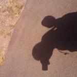 Babywearing shadow