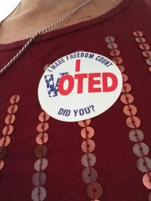 I Just Voted Sticker