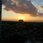 Sunset Over Blue Herron Bridge