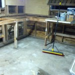 Demoing Shelves in the Shed